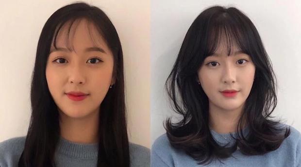 Vài kiểu tóc mái đơn giản giúp các nàng che nhược điểm mặt to - Ảnh 2.