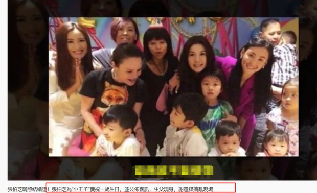 Trương Bá Chi tuyên bố tái hôn trong tiệc sinh nhật con trai, Tạ Đình Phong tức tốc lao tới đánh ghen 1 trận? - Ảnh 3.