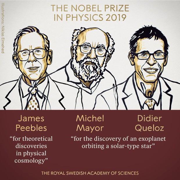 Nobel Vật lý 2019 vinh danh khám phá vũ trụ và hành tinh ngoài Hệ Mặt Trời - Ảnh 2.