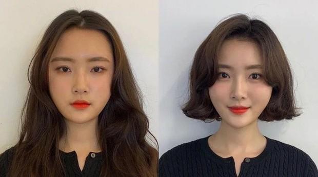 Vài kiểu tóc mái đơn giản giúp các nàng che nhược điểm mặt to - Ảnh 4.