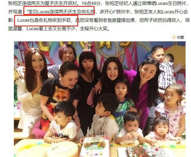 Trương Bá Chi tuyên bố tái hôn trong tiệc sinh nhật con trai, Tạ Đình Phong tức tốc lao tới đánh ghen 1 trận? - Ảnh 5.