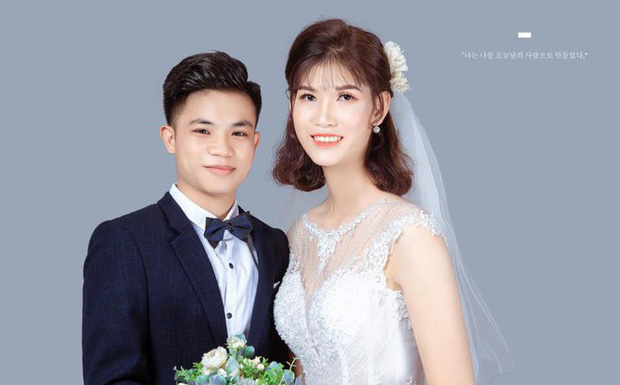 Cưới cô dâu cao gần 2m, chú rể 1,4m gây chú ý nhất MXH tiết lộ: Em vợ thách đố thì mình tán thôi - Ảnh 1.
