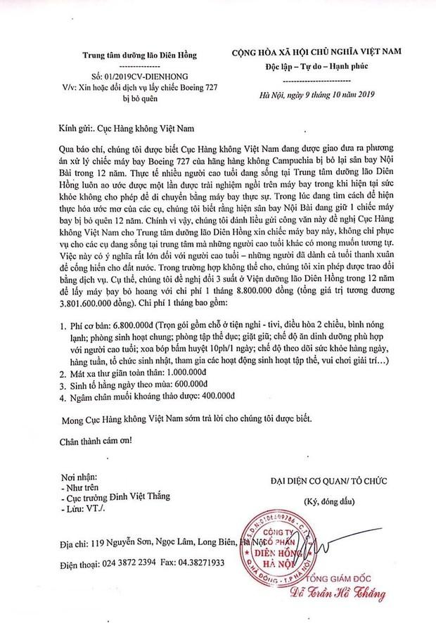 Một trung tâm dưỡng lão ở Hà Nội liều xin Cục Hàng không chiếc máy bay bị bỏ quên 12 năm, để hiện thực hoá ước mơ cho các cụ - Ảnh 1.