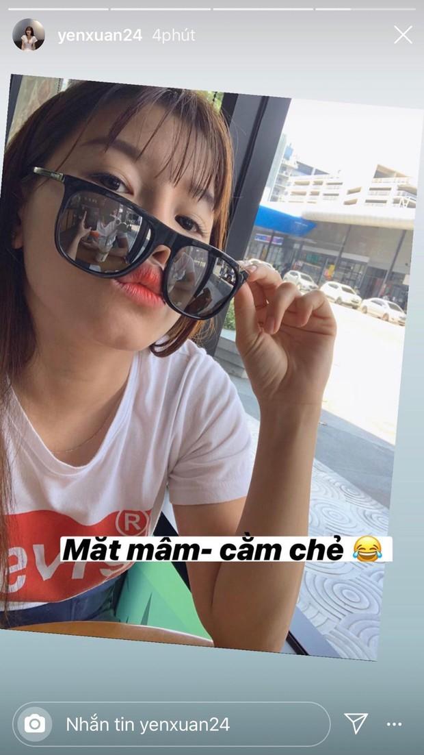 Yến Xuân đáp trả tin đồn lục đục tình cảm với Lâm Tây bằng 1 bức ảnh selfie khoe hạnh phúc mà tinh mắt lắm mới nhìn ra - Ảnh 2.