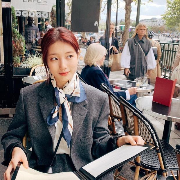 """Úp mở mãi, cuối cùng Suzy cũng đăng loạt ảnh du lịch Paris theo phong cách... """"tả pí lù"""", y hệt 1 người bạn mà ai cũng có - Ảnh 7."""