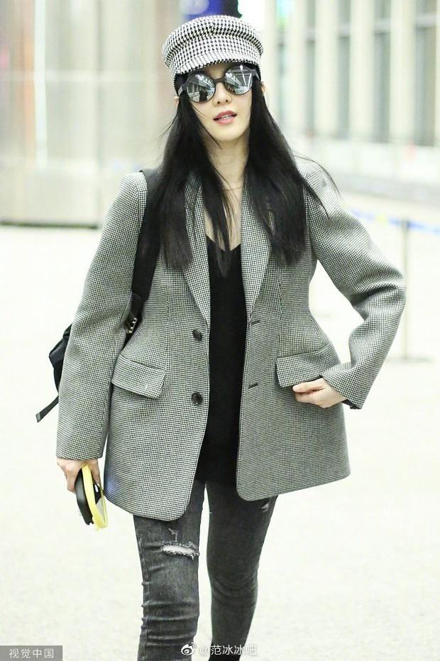 Nộp thuế nên hết tiền, nữ hoàng Phạm Băng Băng hết mặc đầm Taobao 300k lại diện áo cũ từ 3 năm trước? - Ảnh 1.