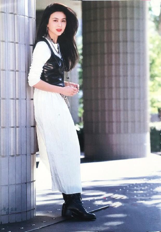 Xao xuyến nhan sắc U30 của Quan Chi Lâm, bảo sao Lưu Đức Hoa phải thốt lên: Cô ấy là người đẹp nhất tôi từng gặp - Ảnh 4.