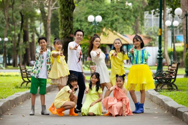 Tình trạng ô nhiễm không khí đáng báo động, Phạm Quỳnh Anh rủ học trò The Voice Kids thực hiện MV đầy ý nghĩa về môi trường - Ảnh 2.