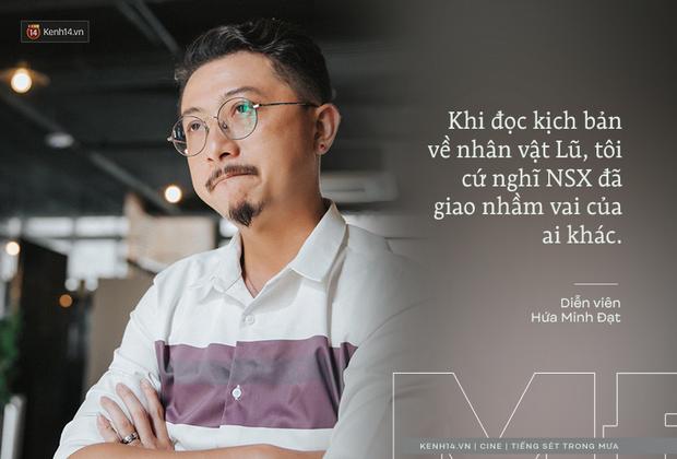 Hứa Minh Đạt ngỡ cầm nhầm kịch bản khi đóng Lũ (Tiếng Sét Trong Mưa), kể chuyện Cao Thái Hà sáng tạo cực mạnh cho cảnh cưỡng hiếp - Ảnh 2.