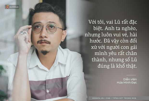 Hứa Minh Đạt ngỡ cầm nhầm kịch bản khi đóng Lũ (Tiếng Sét Trong Mưa), kể chuyện Cao Thái Hà sáng tạo cực mạnh cho cảnh cưỡng hiếp - Ảnh 4.