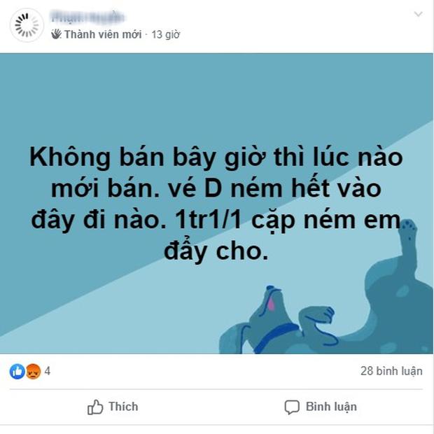 Phe vé ảm đạm, chợ vé online vẫn nhộn nhịp trước trận Việt Nam gặp Malaysia - Ảnh 7.