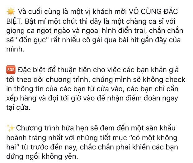 Lùm xùm căng cực tại ĐH Kinh tế quốc dân: BTC úp mở mời Bùi Anh Tuấn về hát để câu fan nhưng đến nơi đợi dài cổ thì là ca sĩ... cấp trường - Ảnh 2.