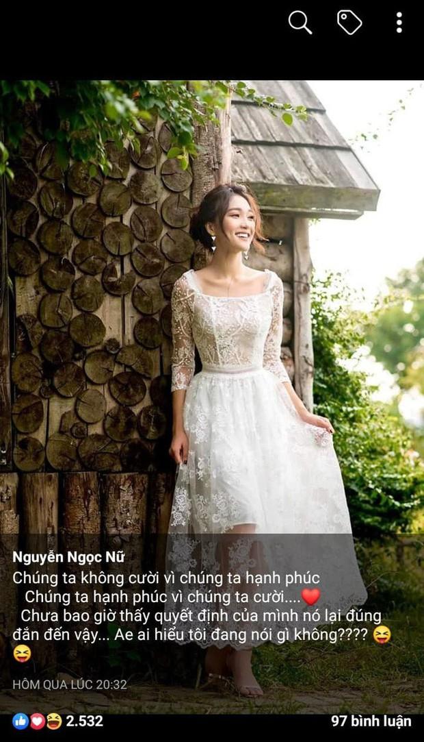 Không tinh mắt cũng thấy: Series bóng gió của Ngọc Nữ chợt dài như cô dâu 8 tuổi từ lúc Văn Đức công khai có bồ - Ảnh 1.