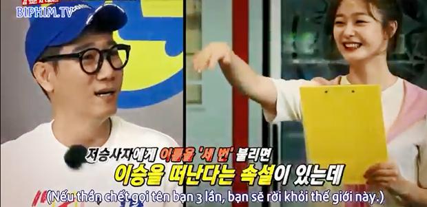 Jeon So Min gây sốc khi sáng tác thơ tặng Ji Suk Jin không khác gì... điếu văn - Ảnh 3.