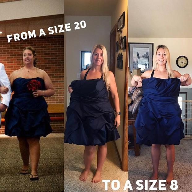 Mẹ 3 con bị chính con mình chế giễu về chuyện cân nặng đã lột xác ngoạn mục bằng cách giảm hẳn 63kg - Ảnh 9.