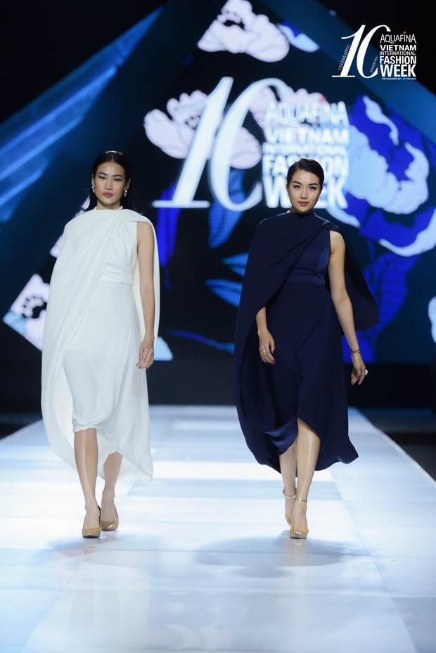 Hoa hậu Hương Giang catwalk xuất thần trong show diễn khép lại AVIFW Thu Đông 2019 - Ảnh 2.