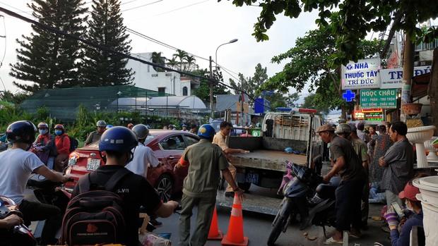 Vừa từ Hải Phòng vào Sài Gòn thăm người thân, nam thanh niên bị tai nạn tử vong - Ảnh 2.