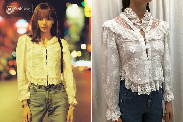 """Mặc đẹp hơn cả mẫu trên web hãng, Lisa lại khiến mẫu áo """"sến súa"""" này sold out chỉ sau 1 tiếng đồng hồ - Ảnh 4."""