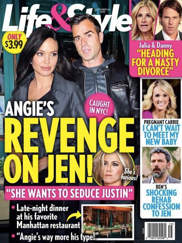 Xôn xao Brad Pitt bắt cá nhiều tay, Angelina Jolie cặp kè tài tử Thiên thần Charlie để trả thù Jennifer Aniston - Ảnh 1.