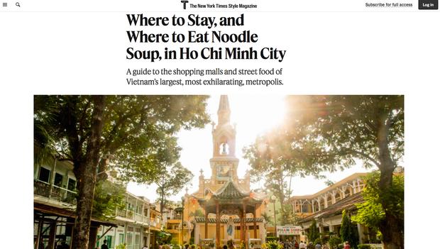 """HOT: Loạt địa điểm """"đỉnh của đỉnh"""" ở Sài Gòn xuất hiện trên thời báo The New York Times, update diện mạo thành phố lên 1 level mới - Ảnh 1."""