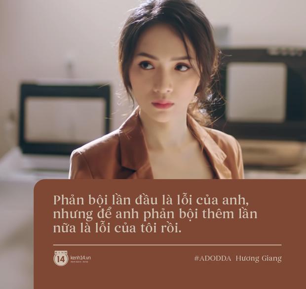 Làm MV thôi mà Hương Giang cho ra đời 3 câu quote tình yêu trúng thẳng tim các chị em, bảo sao mà series #ADODDA không hot! - Ảnh 3.