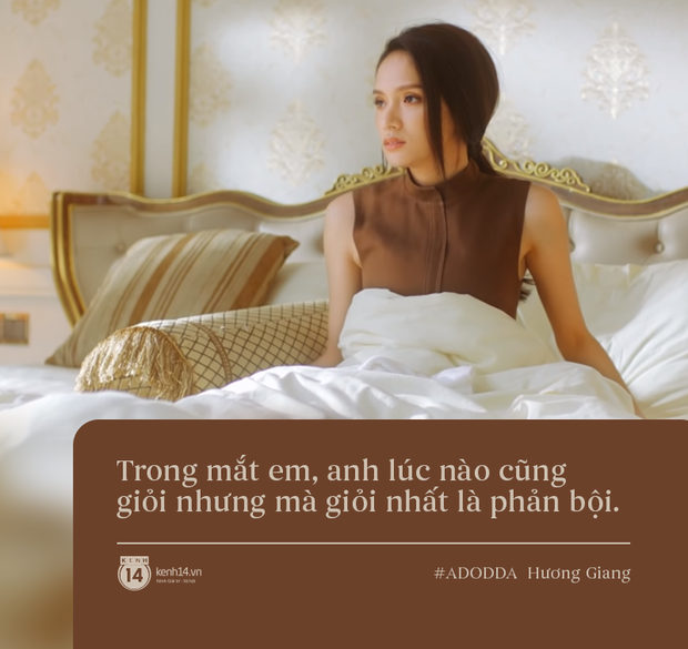 Làm MV thôi mà Hương Giang cho ra đời 3 câu quote tình yêu trúng thẳng tim các chị em, bảo sao mà series #ADODDA không hot! - Ảnh 5.