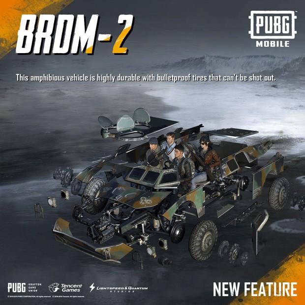 Giải mã BRDM-2 - Con ngựa sắt được săn đón nhất trong PUBG Mobile - Ảnh 2.