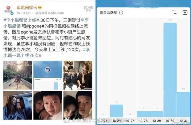 Lý Tiểu Lộ không dám ho he sau scandal clip nóng, netizen lại tìm ra bằng chứng nữ diễn viên đứng ngồi không yên - Ảnh 2.