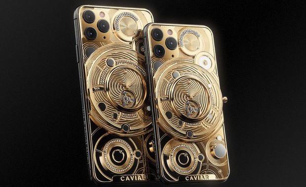 Rich kid cũng phải xót ví với chiếc iPhone 11 này: Đính nửa cân vàng, 137 viên kim cương, giá 1,65 tỷ đồng - Ảnh 3.