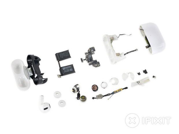 Mổ bụng AirPods Pro: Khả năng sửa chữa và thay pin là vô phương cứu chữa - Ảnh 2.