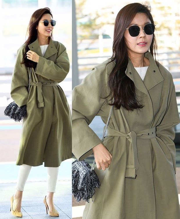 Trời mưa lạnh diện trench coat là chuẩn bài, và để mặc cho đẹp thì bạn phải học ngay các mỹ nhân Hàn - Ảnh 7.