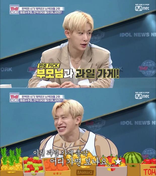 1 ngày trước khi rời MONSTA X vì scandal, Wonho đã bày tỏ ước mơ đi bán trái cây nếu không làm Idol - Ảnh 1.
