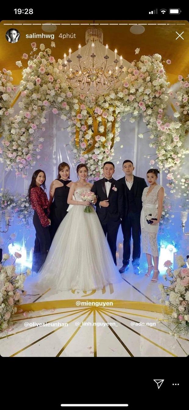 Đám cưới ngọt ngào của Mie: Cô dâu xinh xuất sắc, chú rể và dàn phù rể cũng cực phẩm không kém - Ảnh 1.