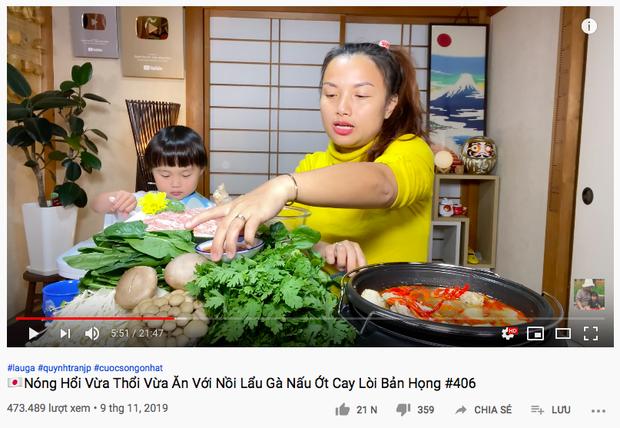 """""""Xót ruột"""" hơn nồi lẩu gà cay của Quỳnh Trần JP là thông tin bé Sa sẽ ngừng quay vlog cùng mẹ trong thời gian tới  - Ảnh 4."""