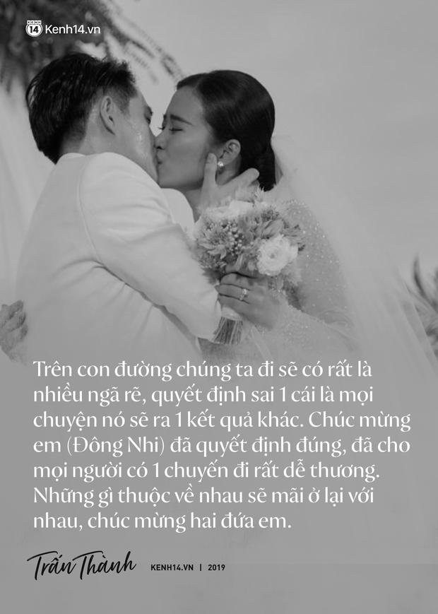 Không chỉ nhắc chuyện quá khứ của Hari Won, Trấn Thành còn gây sốc bởi loạt câu nói trong siêu đám cưới Đông Nhi và Ông Cao Thắng - Ảnh 3.