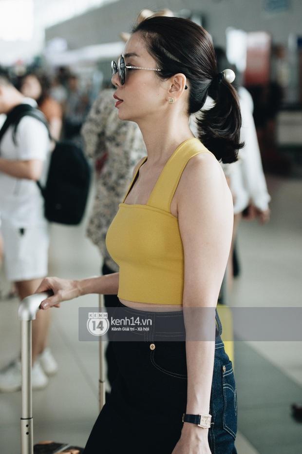 Dàn sao Vbiz đổ bộ sân bay rời Phú Quốc: Người thấm mệt, người vẫn tươi rói sau đêm quẩy nhiệt tại đám cưới Đông Nhi - Ảnh 6.