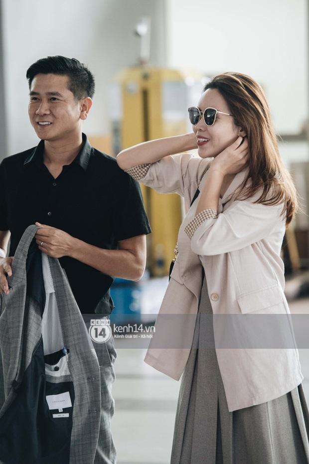 Dàn sao Vbiz đổ bộ sân bay rời Phú Quốc: Người thấm mệt, người vẫn tươi rói sau đêm quẩy nhiệt tại đám cưới Đông Nhi - Ảnh 13.