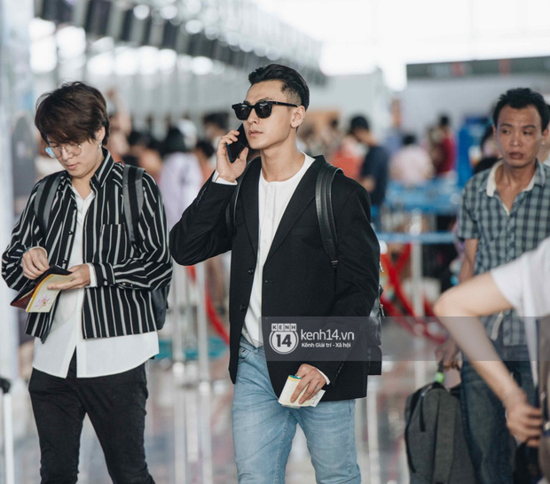 Dàn sao Vbiz đổ bộ sân bay rời Phú Quốc: Người thấm mệt, người vẫn tươi rói sau đêm quẩy nhiệt tại đám cưới Đông Nhi - Ảnh 3.