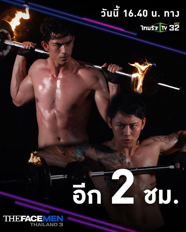 Bỏng mắt đúng nghĩa đen khi xem dàn trai đẹp The Face Men Thái cởi áo khoe body múa lửa - Ảnh 3.