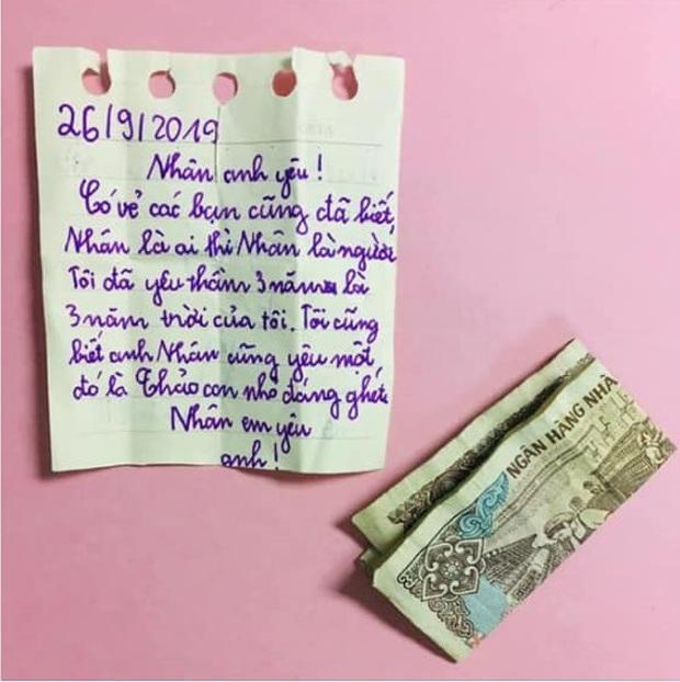Nữ sinh tiểu học gây sốt khi gửi thư tình và quà hẹn ước siêu khủng trị giá... 2000 đồng, thậm chí gọi người yêu của crush là con nhỏ đáng ghét - Ảnh 2.