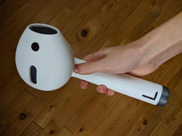 AirPod to như cái máy sấy trong truyền thuyết là có thật, sẵn cả công thức cho ai thích tự làm luôn - Ảnh 1.