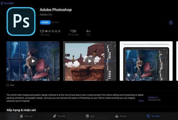 Vừa ra mắt không lâu, Photoshop trên iPad liên tục bị dìm hàng không ngóc dậy nổi - Ảnh 3.