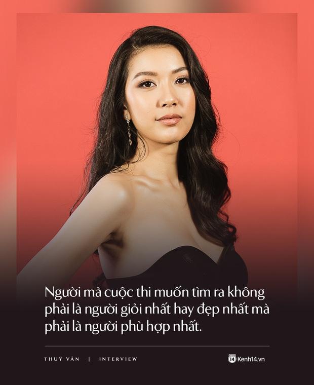 Thúy Vân: Đây không phải cuộc thi Hoa hậu thân thiện mà là Hoa hậu Hoàn vũ, một kỳ Olympic của sắc đẹp - Ảnh 4.