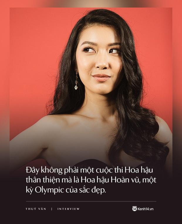 Thúy Vân: Đây không phải cuộc thi Hoa hậu thân thiện mà là Hoa hậu Hoàn vũ, một kỳ Olympic của sắc đẹp - Ảnh 10.