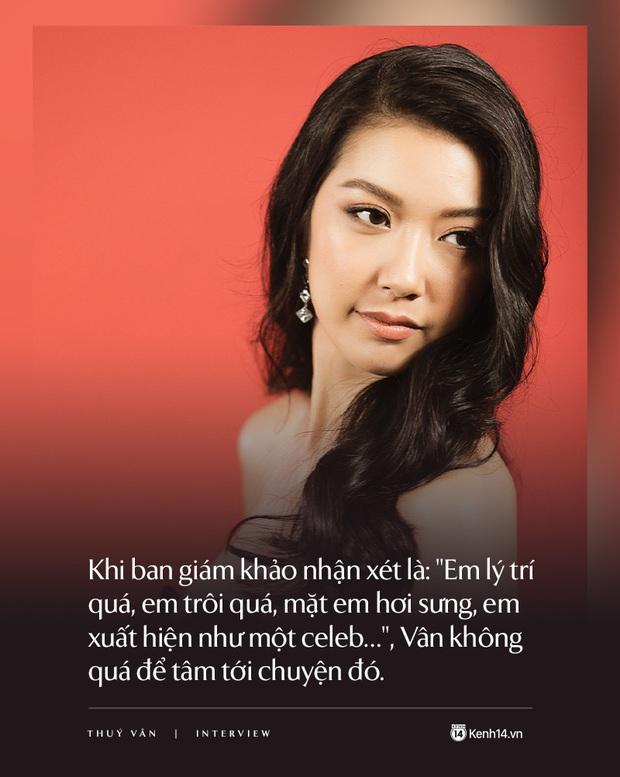 Thúy Vân: Đây không phải cuộc thi Hoa hậu thân thiện mà là Hoa hậu Hoàn vũ, một kỳ Olympic của sắc đẹp - Ảnh 7.
