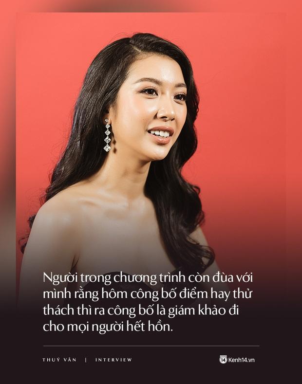 Thúy Vân: Đây không phải cuộc thi Hoa hậu thân thiện mà là Hoa hậu Hoàn vũ, một kỳ Olympic của sắc đẹp - Ảnh 11.