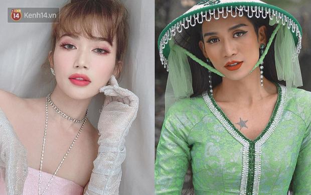 Makeup kiểu búp bê, Sĩ Thanh được khen giống cả Lisa (Black Pink) lẫn... BB Trần - Ảnh 4.