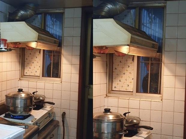 Đang nấu cơm tối, người phụ nữ hoảng hồn khi thấy ngoài cửa sổ có bóng người đang nhìn chằm chằm vào mình - Ảnh 1.
