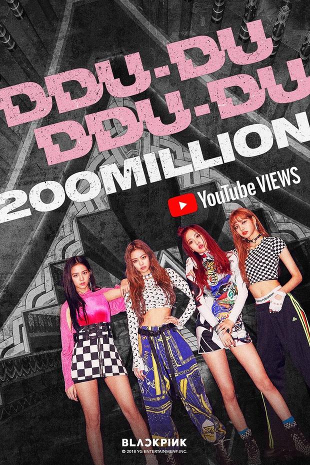 """Cán mốc tỉ view đã đành, MV """"DDU-DU DDU-DU"""" còn giúp BLACKPINK phá vỡ hàng loạt kỉ lục trăm triệu vô tiền khoáng hậu Kpop - Ảnh 3."""