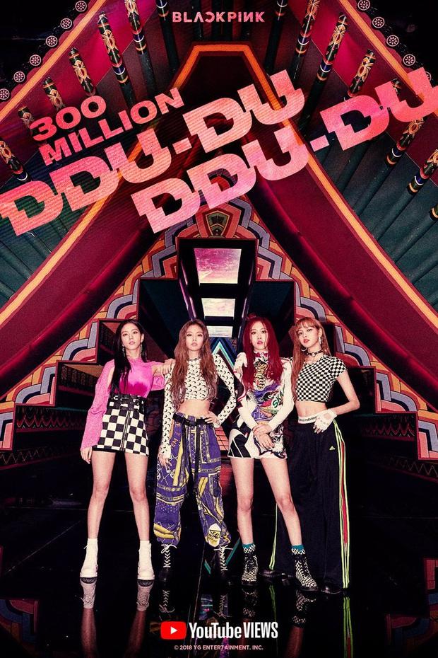 """Cán mốc tỉ view đã đành, MV """"DDU-DU DDU-DU"""" còn giúp BLACKPINK phá vỡ hàng loạt kỉ lục trăm triệu vô tiền khoáng hậu Kpop - Ảnh 4."""